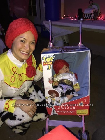 Cool Mom And Baby Costume Toy Story Jessie Doll In Box Costume