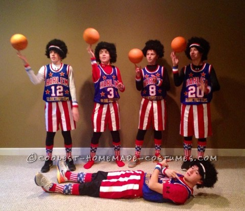 Best Harlem Globetrotters Boy Group Costume
