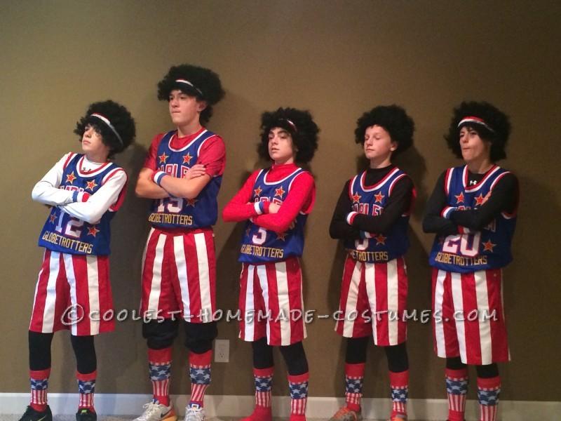 Best Harlem Globetrotters Boy Group Costume - 2