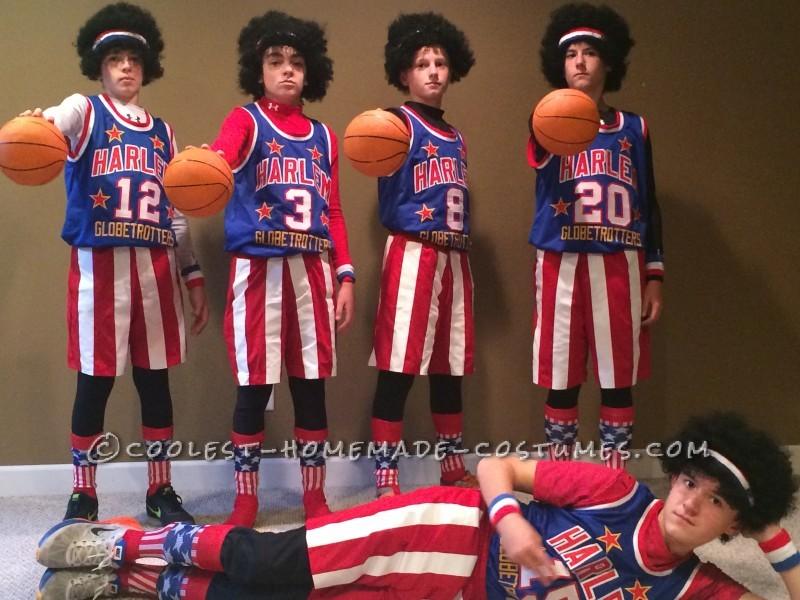 Best Harlem Globetrotters Boy Group Costume - 3
