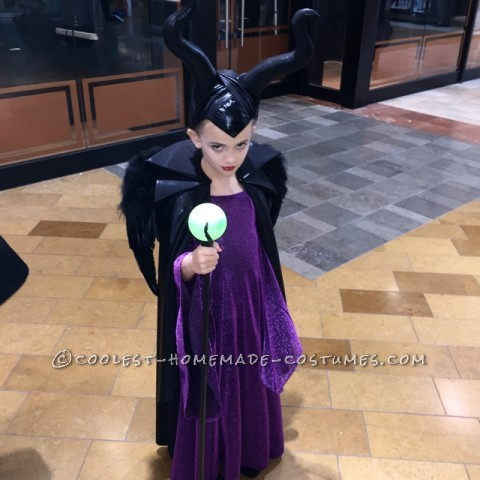 Coolest Homemade Malificent Costume