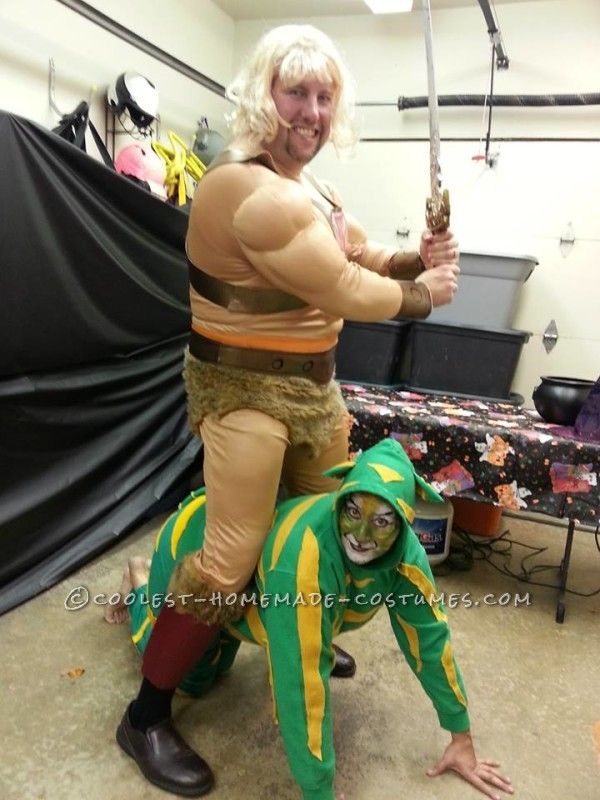 He-man, and Cringer