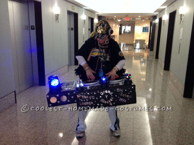 Best Old School 80's DJ Booth Costume