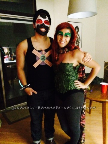 Best Poison Ivy and Bane Couples Halloween Costume