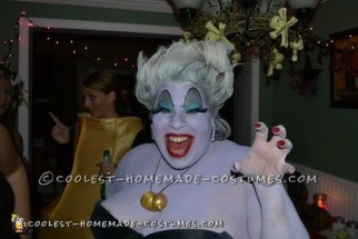 Best Homemade Ursula Costume Ever!