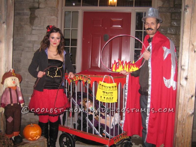 Creative Circus Family Costume