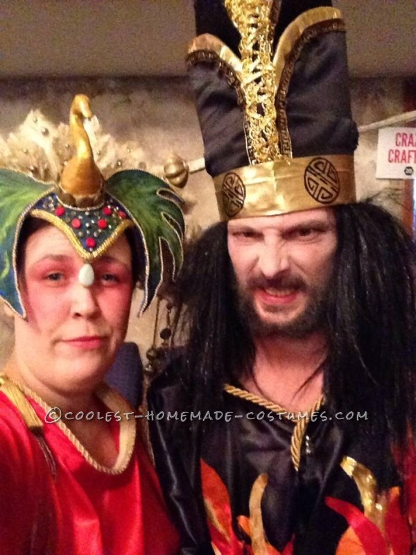 Coolest Homemade Big Trouble in Little China Couple Costume - 2