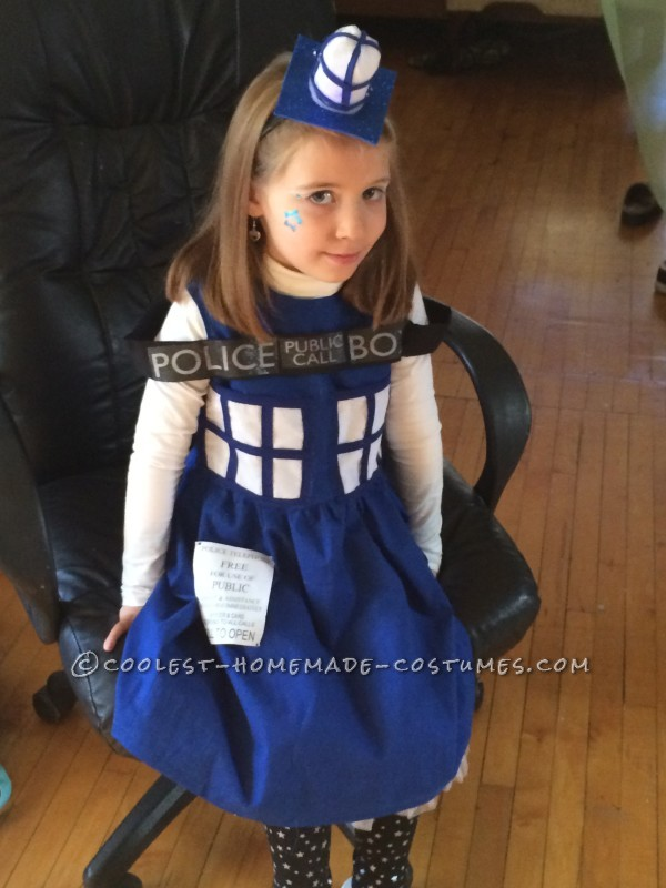 Coolest Homemade Tardis Costume