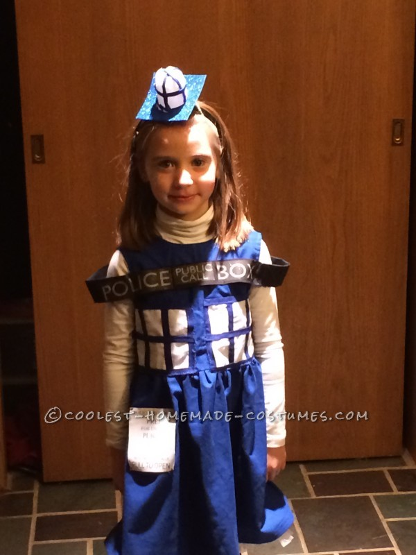 Coolest Homemade Tardis Costume - 1