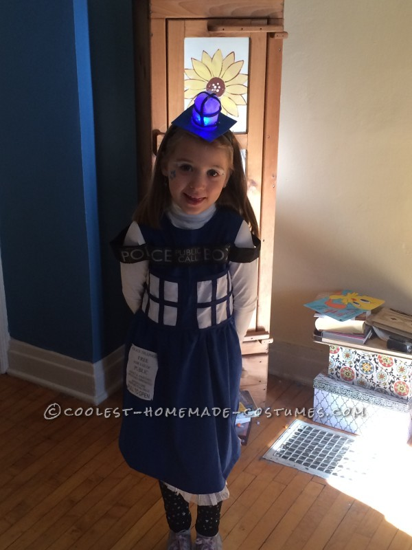 Coolest Homemade Tardis Costume - 2
