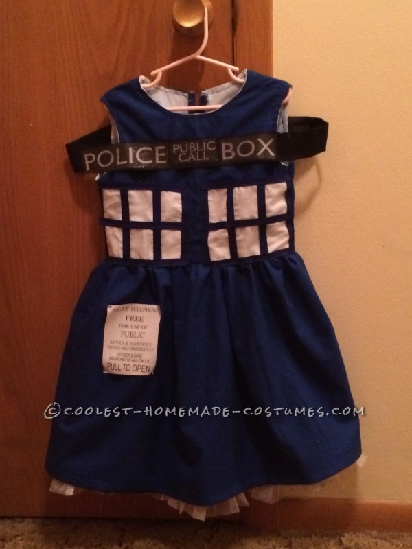 Coolest Homemade Tardis Costume - 3