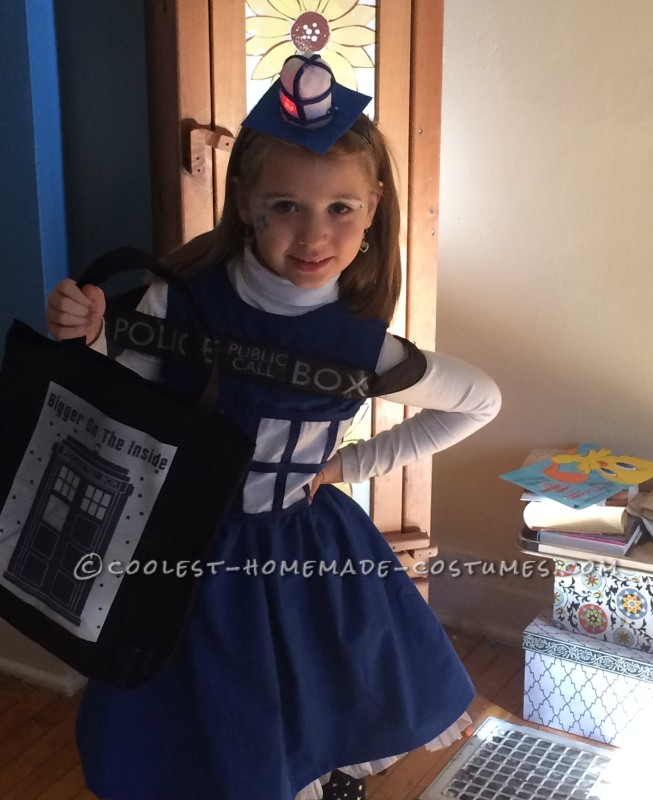 Coolest Homemade Tardis Costume - 4