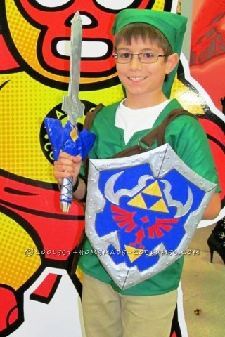 Homemade Link from Zelda Costume