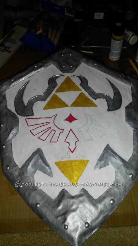 Homemade Link from Zelda Costume