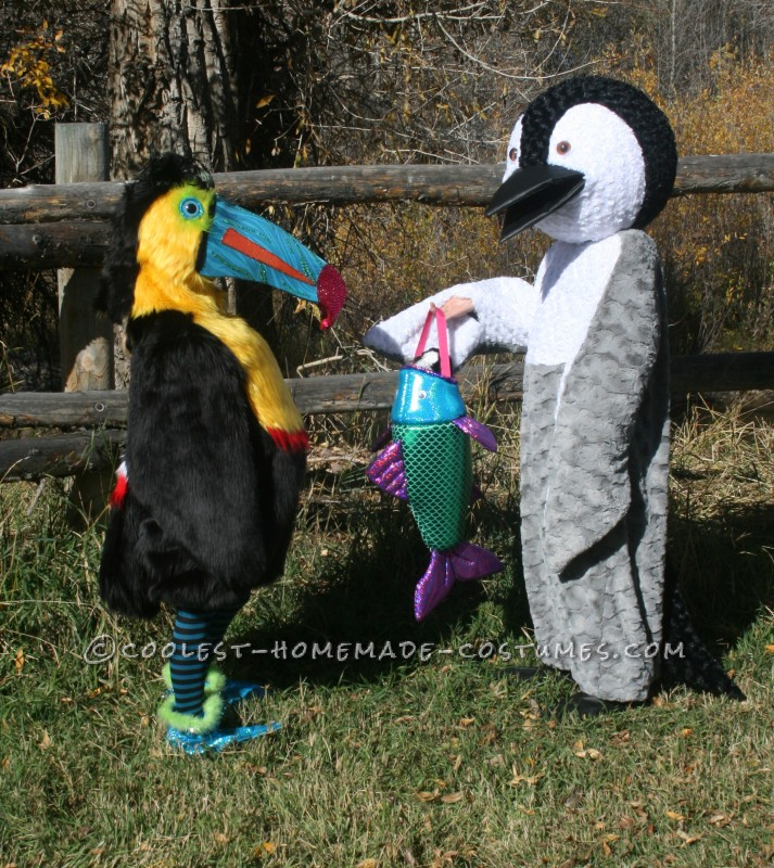Penguin and Toucan Costumes: Birds of a Feather in all Kinds of Weather - 1
