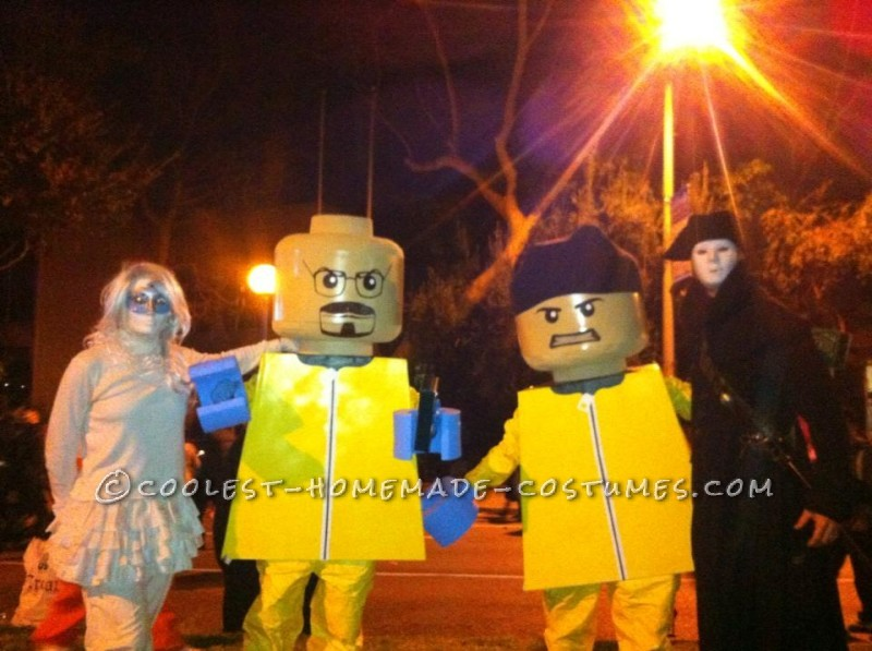 Original Homemade Lego Couple Costume
