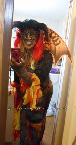 Brimstone Hellfire Demon Costume