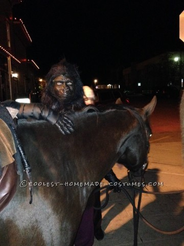Coolest Ever DIY Planet of the Apes Couple Costume