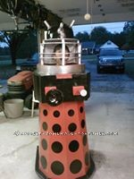 Homemade Dalek from Doctor Who Halloween Costume - 5