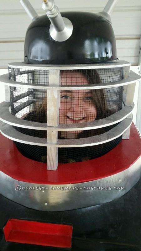 Homemade Dalek from Doctor Who Halloween Costume