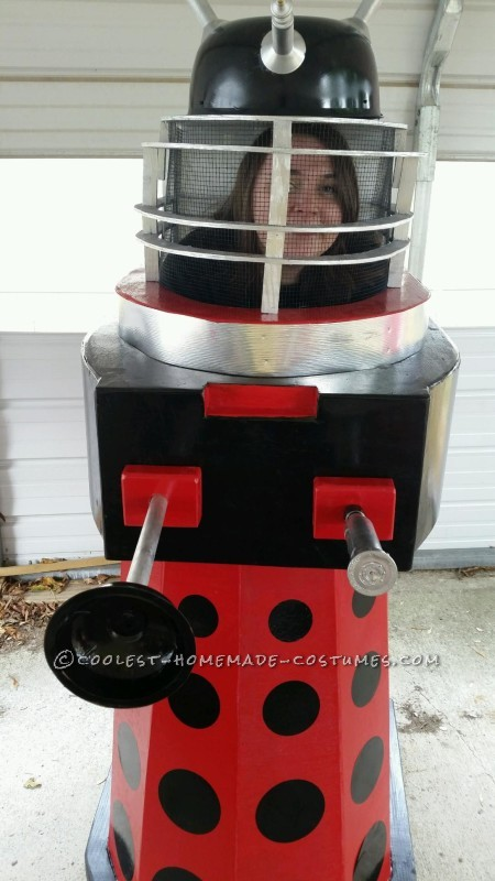Homemade Dalek from Doctor Who Halloween Costume - 3