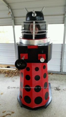 Homemade Dalek from Doctor Who Halloween Costume