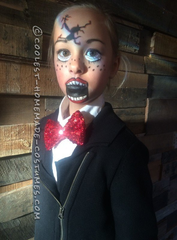 Broken Ventriloquist Puppet Costume