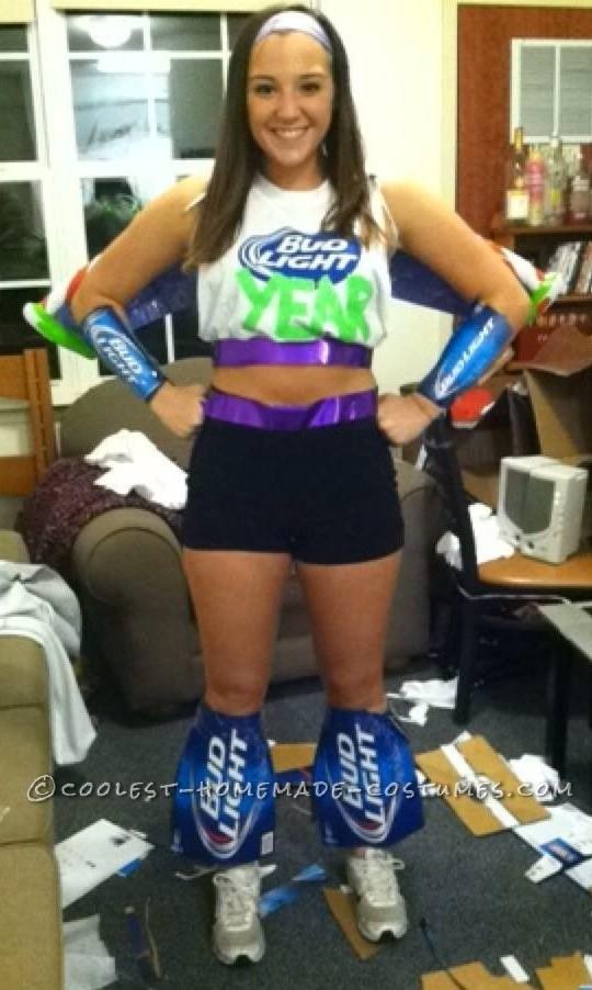 Creative Play on Words Bud Lightyear Costume