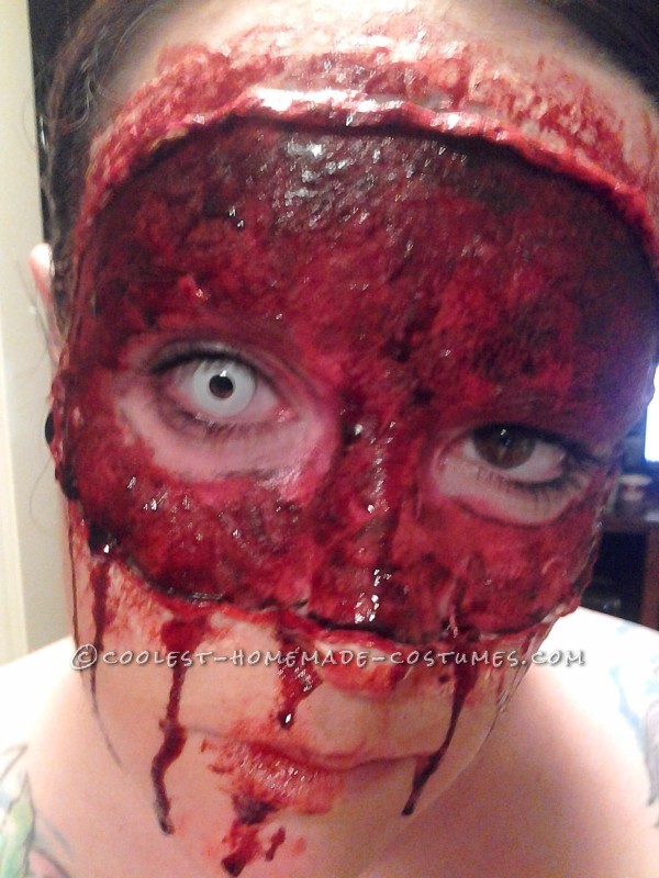 Disturbing Halloween Makeup – Buffalo Bill's Masquerade Party - 2