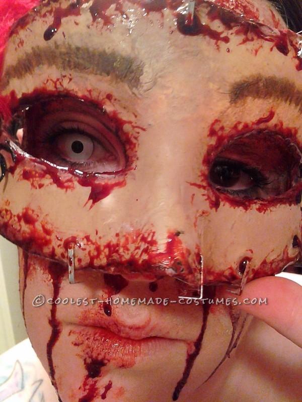 Disturbing Halloween Makeup – Buffalo Bill's Masquerade Party - 1