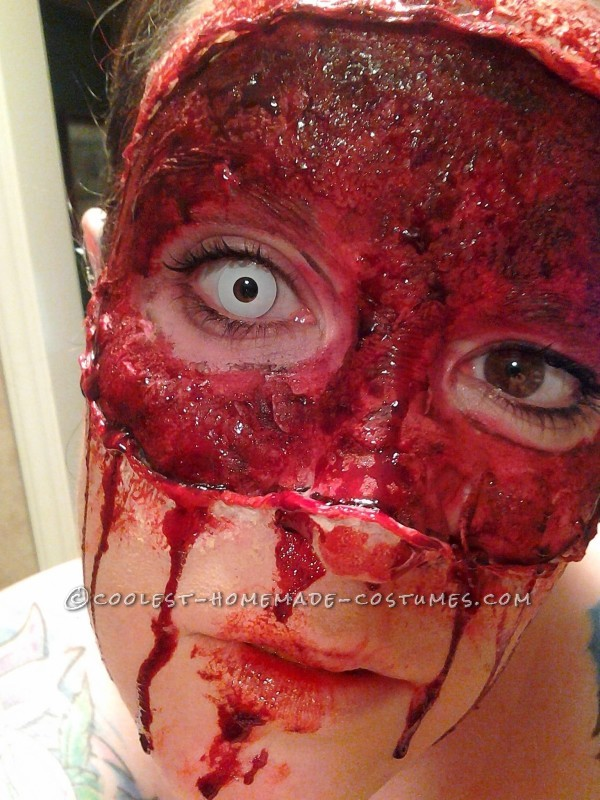 Disturbing Halloween Makeup – Buffalo Bill's Masquerade Party