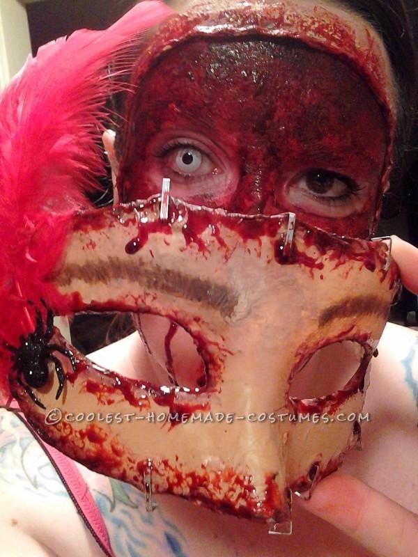 Disturbing Halloween Makeup – Buffalo Bill's Masquerade Party - 3