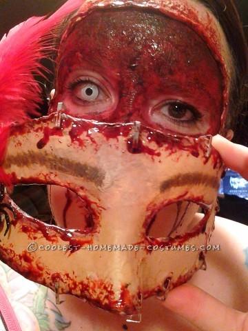Disturbing Halloween Makeup - Buffalo Bill's Masquerade Party