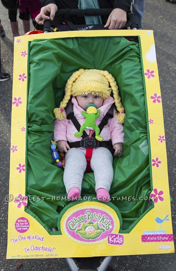 Cutest Cabbage Patch Kid Costume