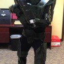 Awesome Cardboard Master Chief Costume