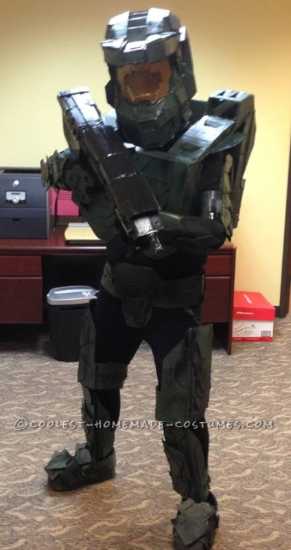 Completed Master Chief at the office party