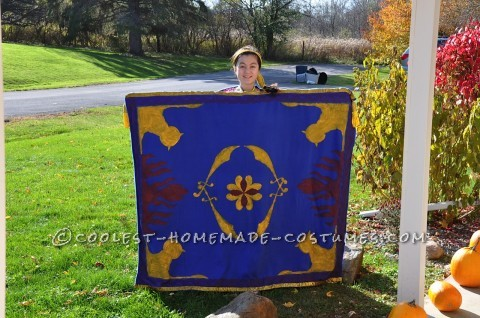 Coolest Homemade Disney's Aladdin Carpet Costume