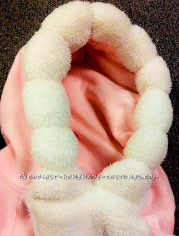 Nana's hoodie with cinching