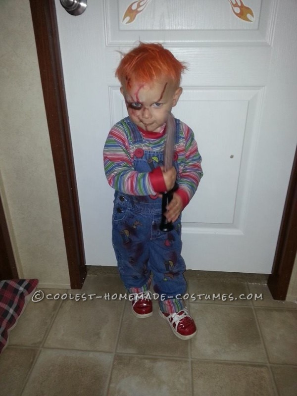 This is his Chucky look, lol