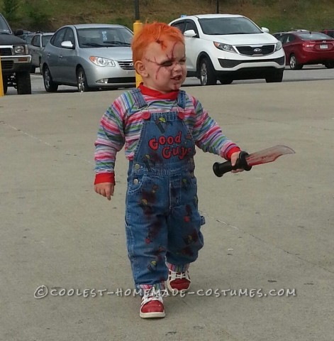 Chucky Toddler Costume - the Beginning, When He Was Two Years Old