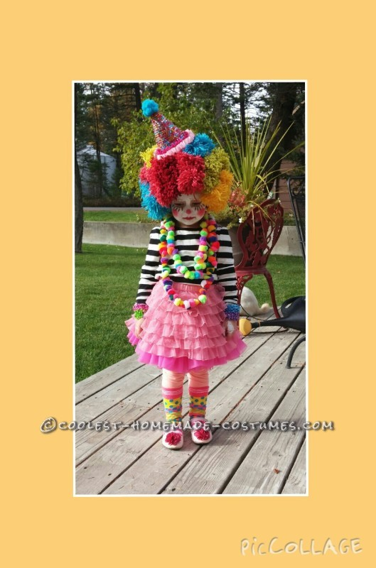 Homemade Clown and Mime Family Costumes - 2