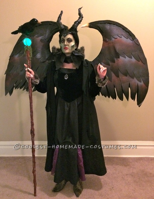Coolest Cartoon Movie Mix Maleficent Costume