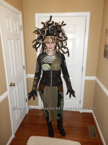 Contest Winning DIY Medusa Costume