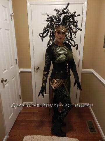Contest Winning DIY Medusa Costume