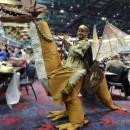 Cool Dragon Rider Illusion Costume