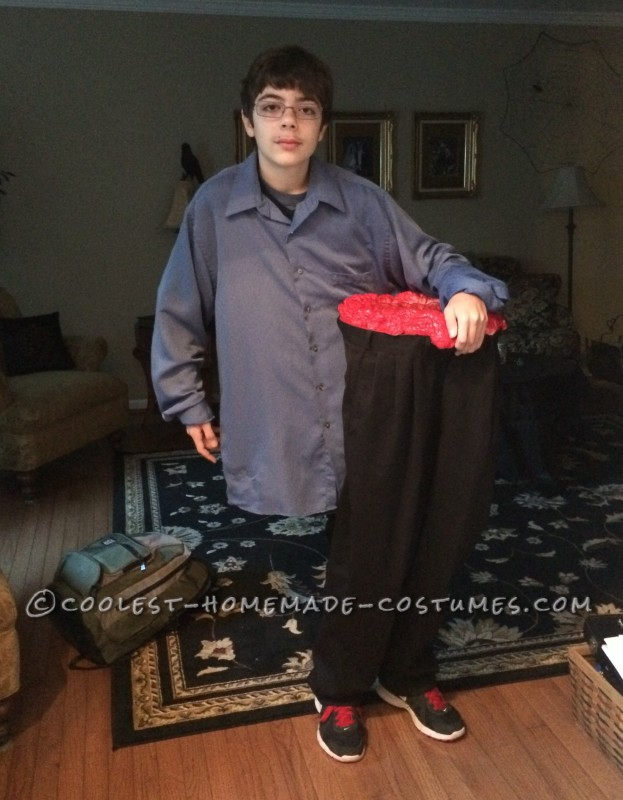Cool Illusion Costume: Half the Man I Used to Be!