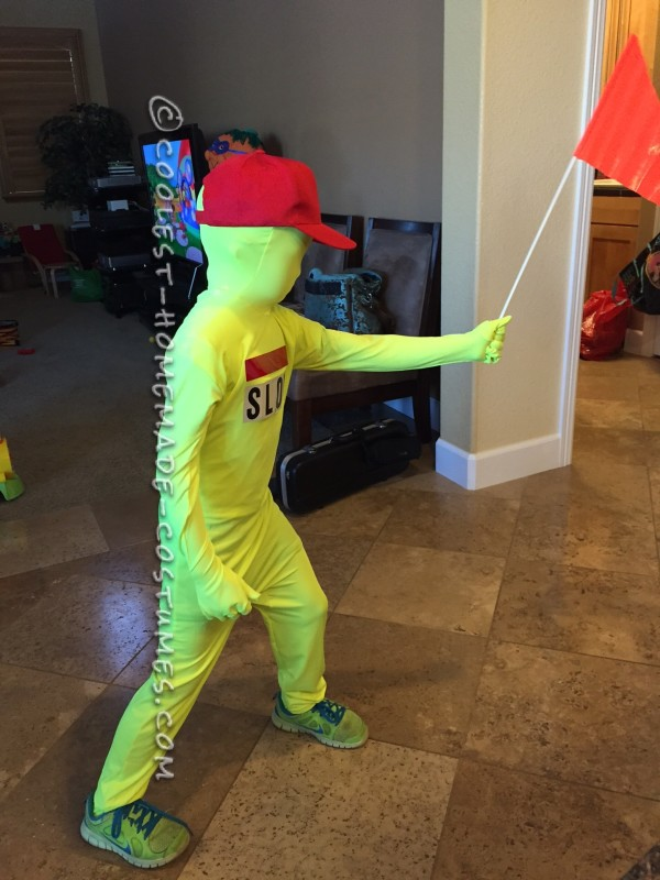Cool Kid Alert Playing Sign Costume
