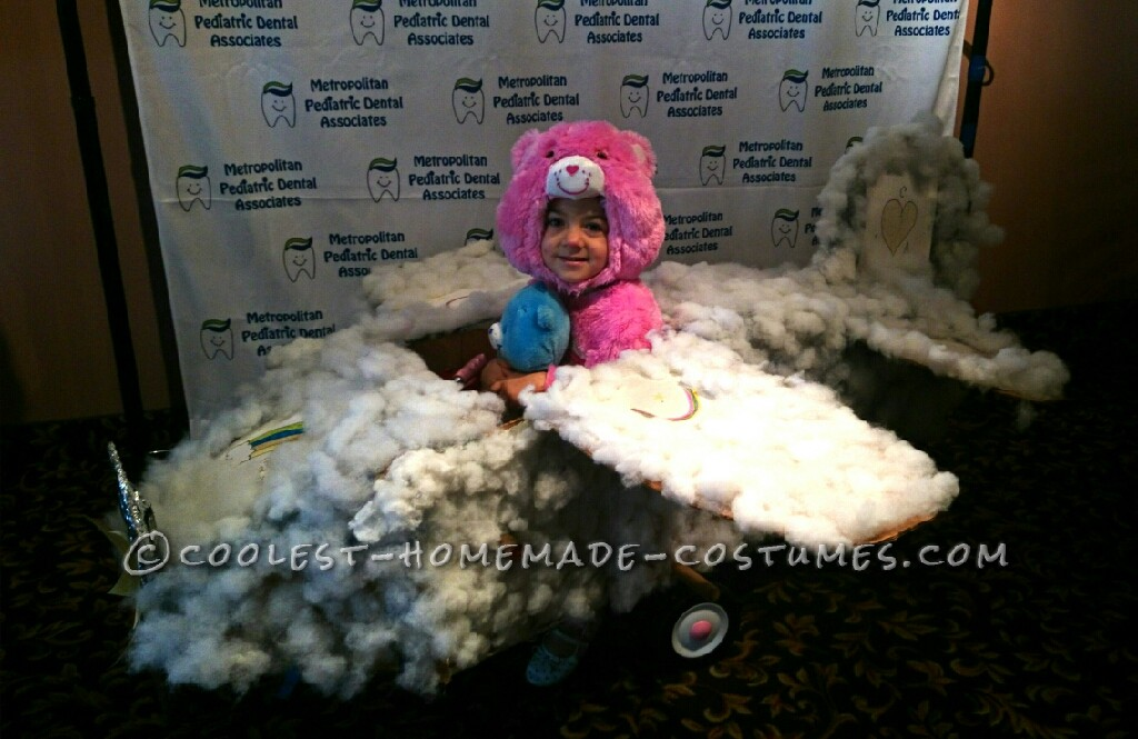 Coolest Cloud Plane for a Care Bear Costume