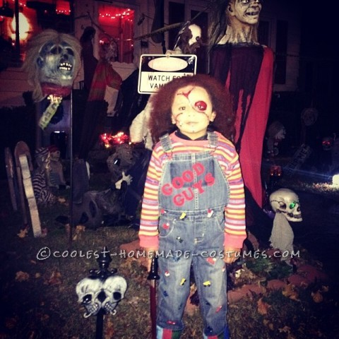 Coolest Chucky Costume for a 3 Year Old Boy