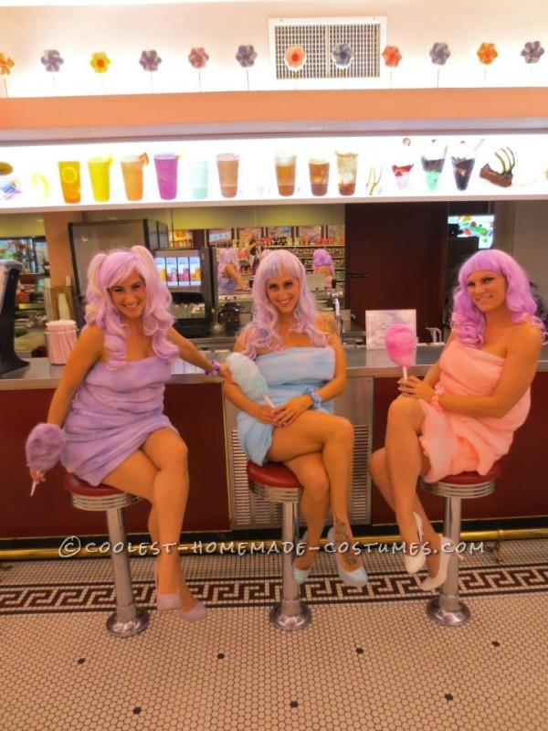 Coolest Cotton Candy Girls Costumes - 2